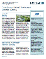 EMPEA - Case Study: United Envirotech Limited (China)
